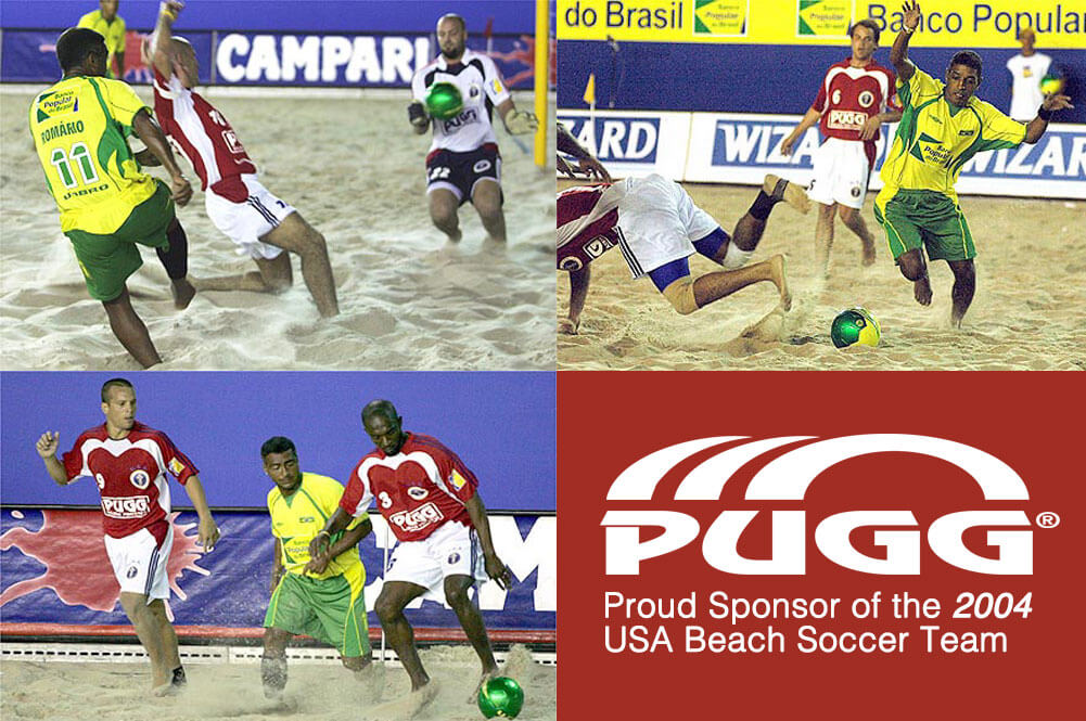 Pugg Company sponsors USA Beach Team in 2004