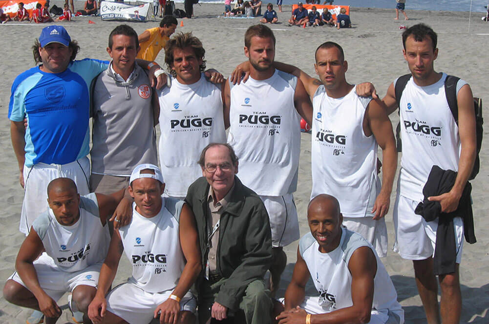 Team Pugg photo, 2008 Oceanside Beach Soccer Championships
