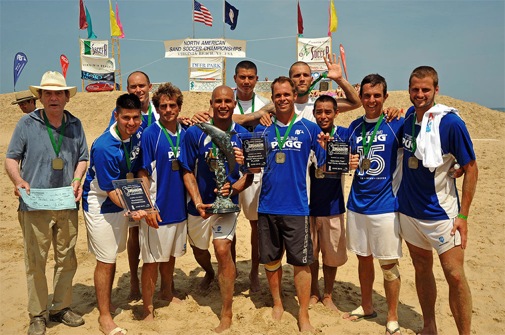 Team Pugg Championship photo, Virgina Beach Soccer Tournament 2010