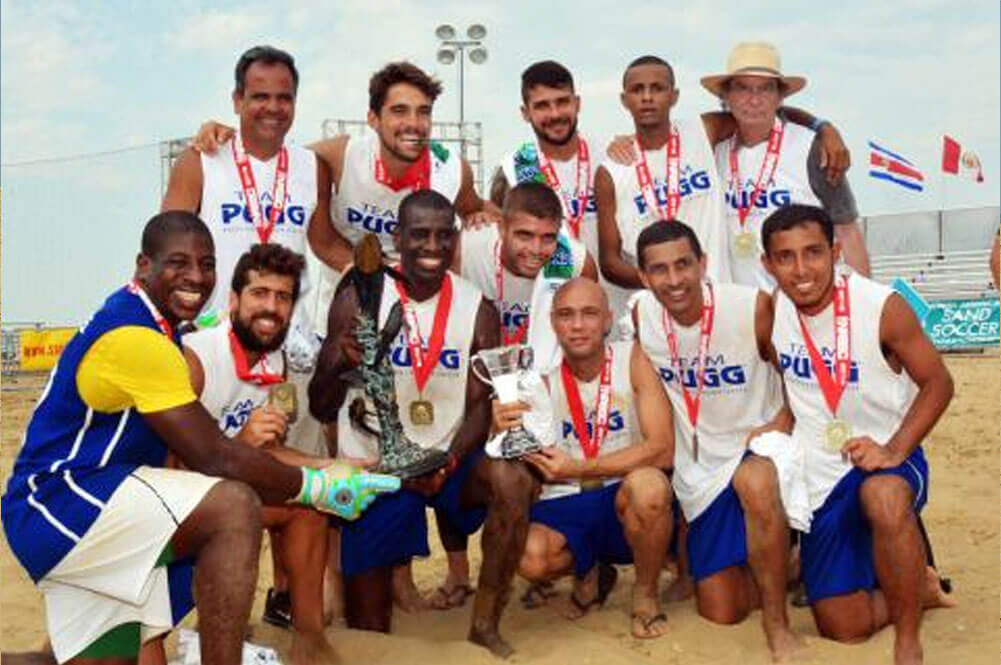 Team Pugg Championship photo, Virgina Beach Soccer Tournament 2016