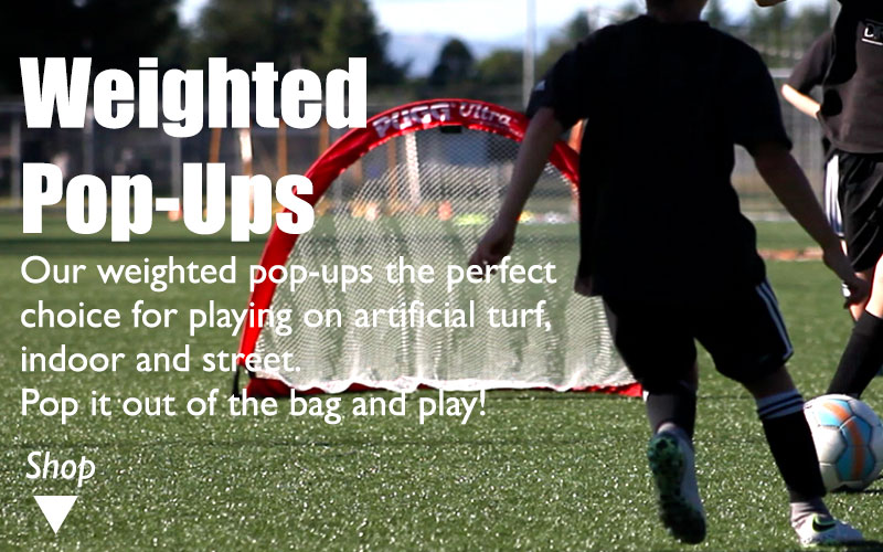 Pugg Weighted Q5s on soccer training turf field