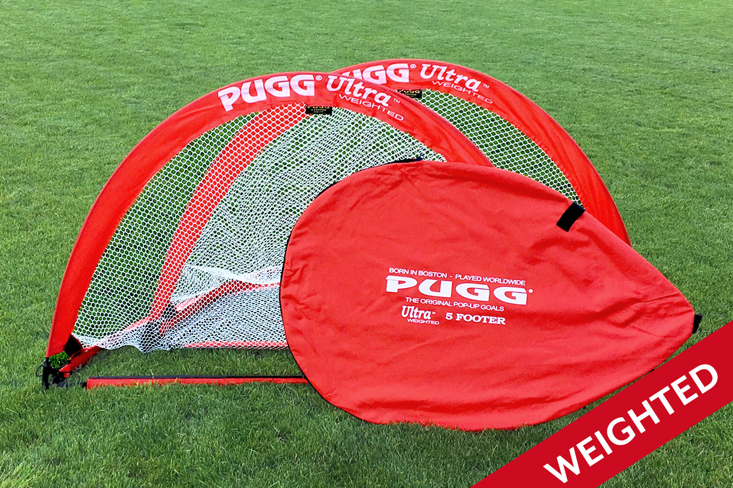 pugg the 1 choice in soccer pop up goals