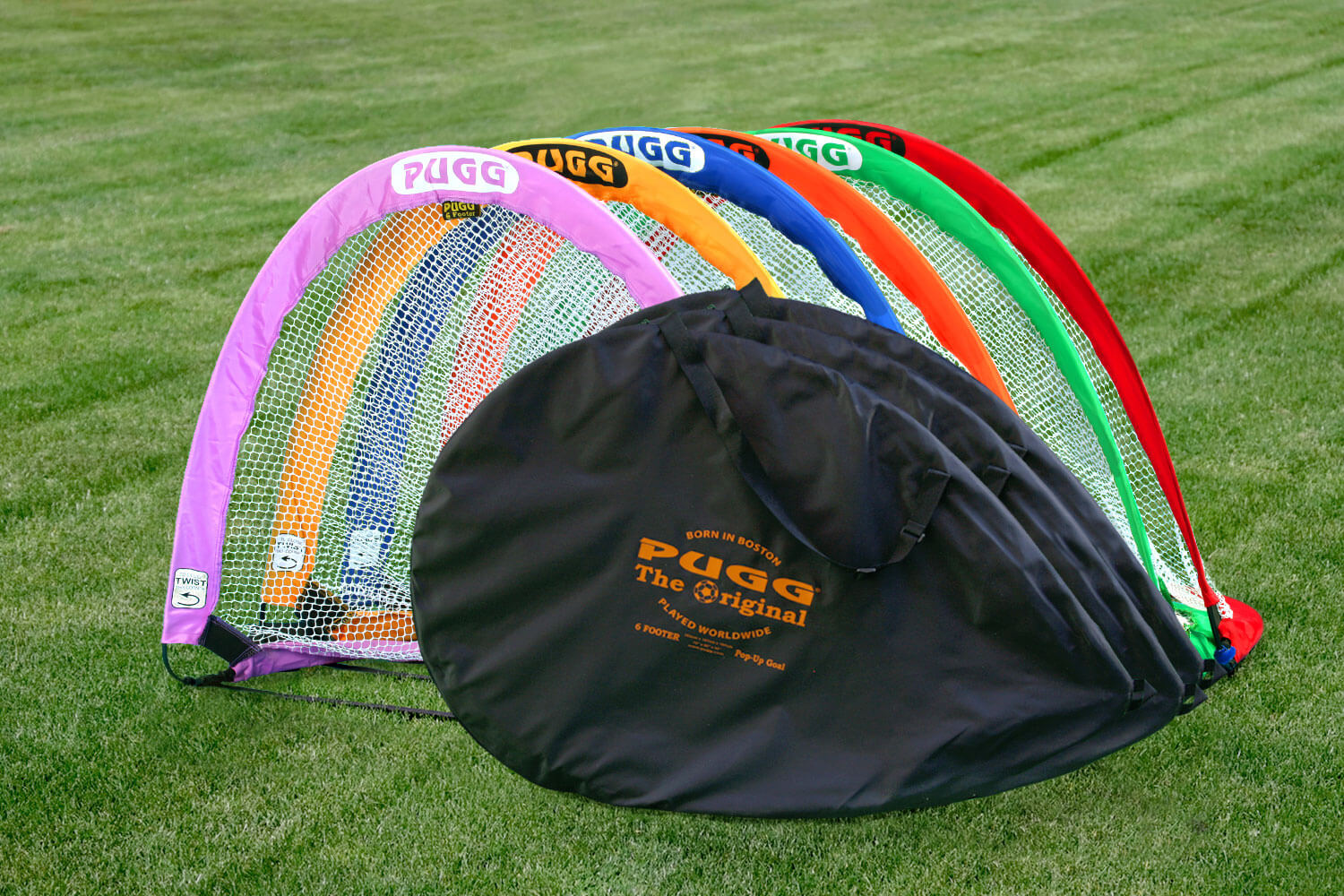 Pugg 6 Color Pack - 4ft & 6ft