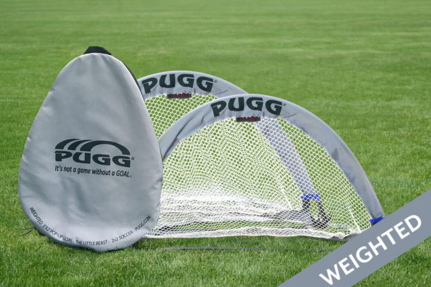 Little Beast Weighted Pugg Pop Up Soccer Goal