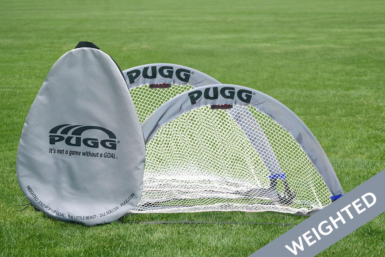 Little Beast Weighted Pugg Pop Up Soccer Goal