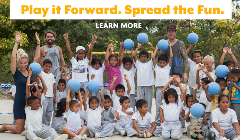 Play it forward. Spread the fun.