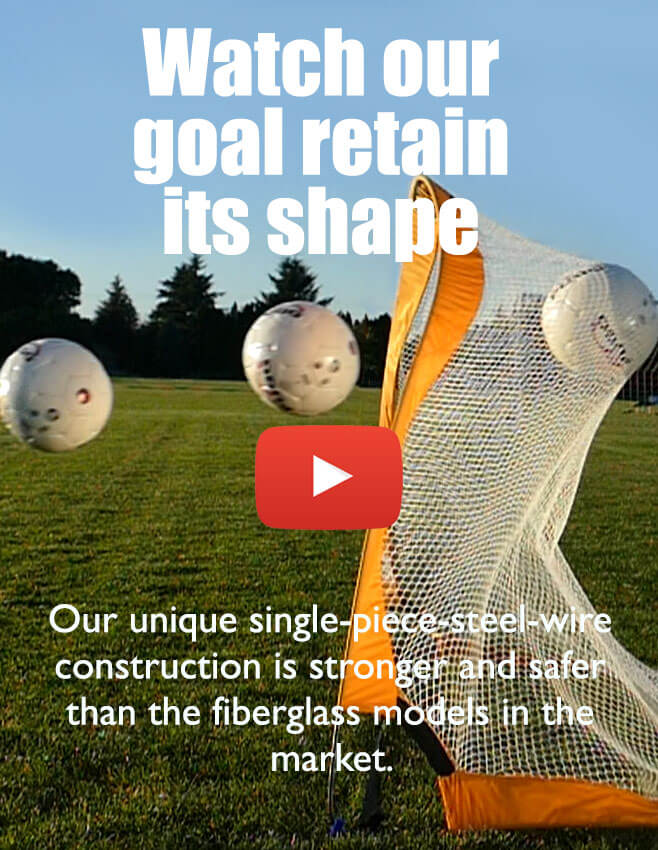 Watch our goal retain its shape