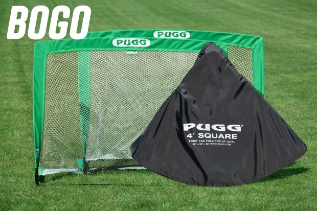pugg pop up goal u90 4 footer