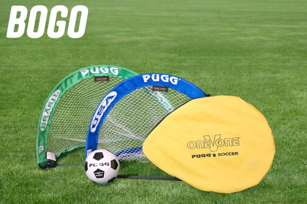 pugg pop up goal mini brazil usa