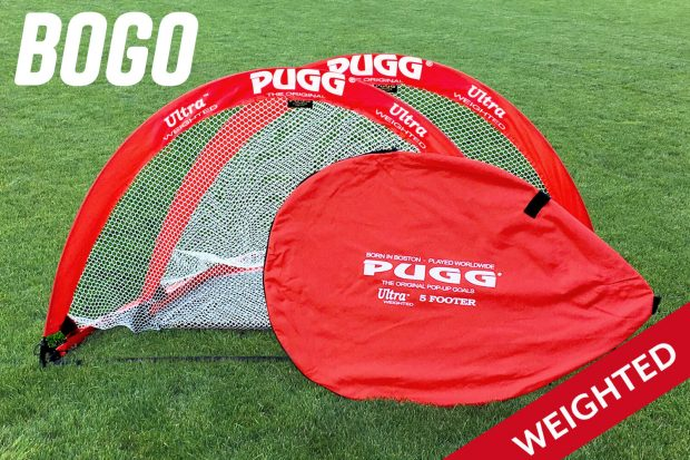 pugg weighted pop up goal q5 ultra 5 footer